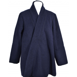 Veste tendance laine des Pyrénées marine