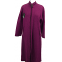 Robe d'hotesse zippée laine des Pyrénées