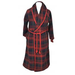 Robe de chambre enfant laine des Pyrénées écossais