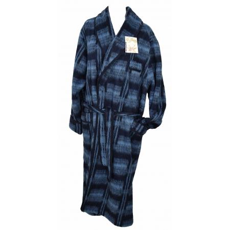 Robe de chambre homme écossais