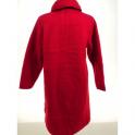 Robe de chambre laine des Pyrénées boutonnée 7/8