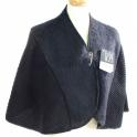 Chauffe épaules laine des Pyrénées noir