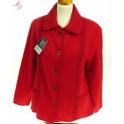 Veste laine des Pyrénées torsades col tricot