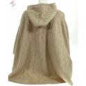 Cape laine des Pyrénées avec capuche