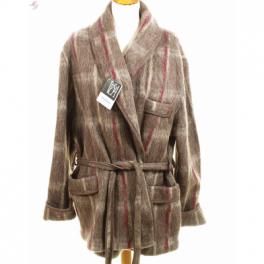 Veston homme laine des Pyrénées écossais