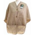 Poncho femme laine des Pyrénées sahara