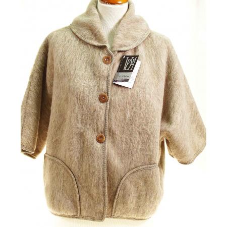 Poncho veste laine des Pyrénées Sahara