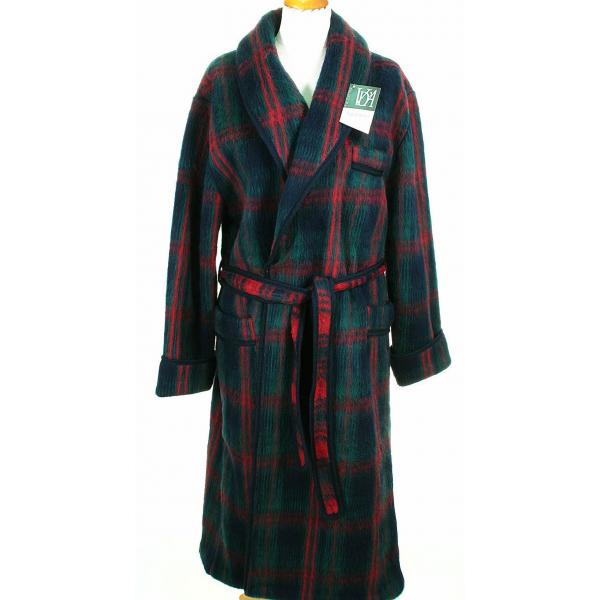 c2f1ba88b1722a robe de chambre homme ecossais marine en stock cet hiver